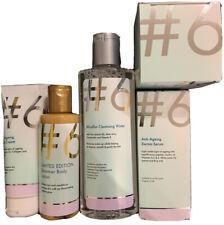 #6 Anti Ageing Night,Hand Cream, derma Serum, micellar Cleansing Water, shimmer