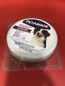 PetArmor Count Flea & Tick Collar for Large Dogs New Pet Armor 12 Months