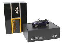 1:43 Minichamps Mini Cooper R52 Convertible dark blue NEW bei PREMIUM-MODELCARS