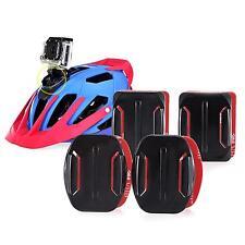 4pcs Helmet Camera Holder Flat Curved Base Mount For Gopro HD Hero 2 3 Sports DV
