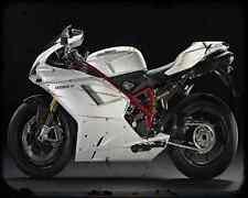 Ducati 1198S 10 3 A4 Metal Sign Motorbike Vintage Aged
