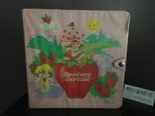 Vtg 1983 Strawberry Shortcake Story Book Carry Case Storage Box For Dolls & Mini