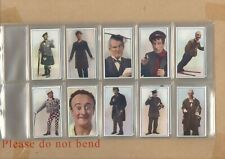 More details for eo3 - cigarette card set - music hall celebrities hill 1930