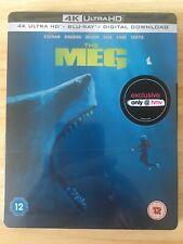 The Meg 4K Ultra HD, Steelbook)