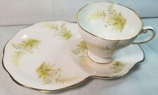 Rare 1850 Eb Foley Bone China Cup & Saucer/Plate - Made in England