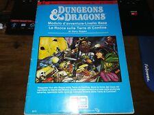 dungeons & dragons eg LA ROCCA SULLE TERRE DI CONFINE ITA STAMPATO IN SPAGNA B