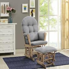 NEW Baby Nursery Rocking Furniture Chair Storage Pockets, Windsor Glider Ottoman