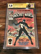 MARVEL SUPER HEROS SECRET WARS 8 CGC 7.0 3X SS REALLY NICE!