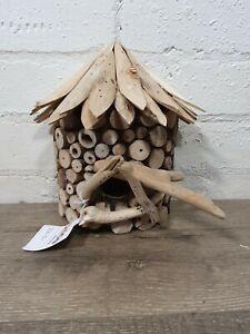Gringo Fairtrade Driftwood Bird House 22 x 20 cm - Fault