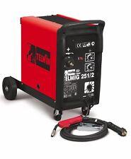 TELWIN TELMIG 251/2 TURBO SALDATRICE A FILO CONTINUO MIG-MAG GAS 230 V 40-240 A