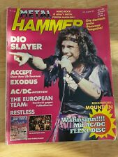 Metal Hammer juli/August 1985 mitAC/DC Flexi Disc