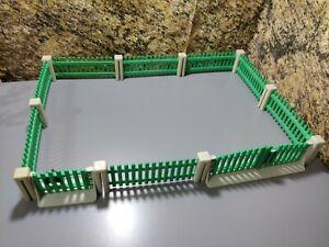 PLAYMOBIL Fence Green Victorian Fence Farm