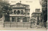 AK München, Villa Lenbach, gel. ca 1911 (?) nach Reichenbach
