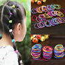 100Pcs Baby Kids Girls Hair Band Ties Rope Ring Elastic Hairband Ponytail Holder