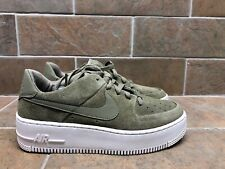 NEW Nike Air Force 1 Sage Low Suede Trooper Size 8 Women's AR5339-200