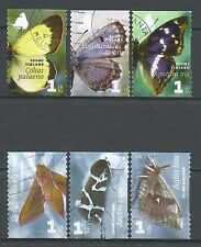 ˳˳ ҉ ˳˳FI10 Finland Butterflies & Insects - 6 different 2007-2008 complete sets