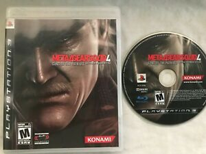 Metal Gear Solid 4 Sony Playstation 3 PS3