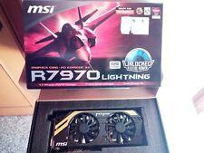 Scheda video grafica MSI Radeon R7970 Lightning 3GB DirectX11 Unlock AMD HD7970