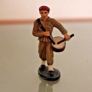 Starlux Plastic Legionnaire Beret Red Musician Drum to the / Of Catwalk Years 60