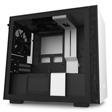 NZXT H210 White Mini-ITX Tower Case Tempered Glass Desktop Computer Case
