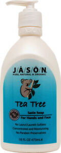 Purifying Tea Tree Hand Soap by Jason Natural Products, 16 oz