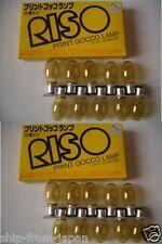 RISO Print Gocco [ 20 ] x Flash Light Lamp bulb PG-5 PG-11 Arts Screen printer