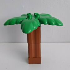 OLD 2563 LEGO 1x Pianta Albero Palma Base MARRONE