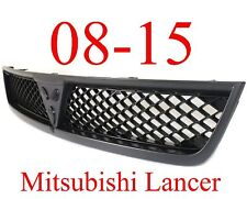 08 15 Mitsubishi Lancer Upper Grill Black, New Replacement, MI1200254, 7450A095