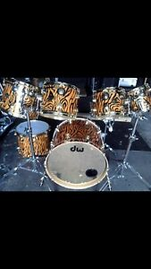 DW Collectors  maple 7 Piece Shell Pack W Lots Of Extras sweet !
