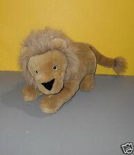 "ASI 16"" Lion Stuffed Toy It's All Greek To Me Plush Animal w/ Safari Print Eyes"