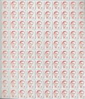 Scott # 1849 - US Sheet Of 100 - Walter Lippmann  - MNH - OG  BV 22.50