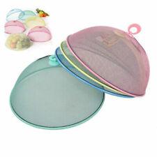 Coprivivande in rete metallica colorata cupola rotonda per alimenti 35 cm.
