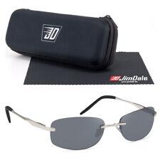 Schmale flache Biker Sonnenbrille Metall Chrom Schwarz verspiegelt UV400 Herren
