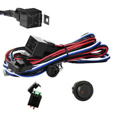 LED Light Bar Wiring Harness Kit 12V 40A Fuse Relay ON/OFF Switch Up To 300W