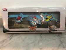 Disney Store Planes Fire & Rescue Wall Hooks 3 Piece Set NEW OPEN BOX