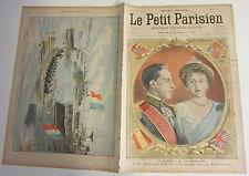 Le petit parisien 1906 904 Mariage Roi Espagne Alphonse XIII Ena de Battenberg