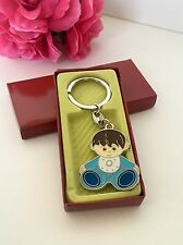 24-Baby Shower Boy Party Favors Keychains Favors Blue Party Recuerdos De Nino
