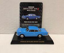 Kyosho 1/64 Nissan Prince Skyline Sport Coupe Diecast Car Model BLUE