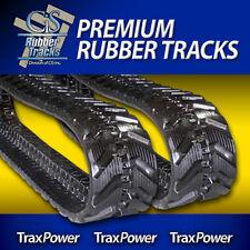 "X231,X329,X331,X334,E26,E32;CX27;27D;PC27MR KX91- One Pair of 12"" Rubber Tracks"