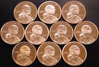 2000-2009 S Native American Sacagawea Proof Dollar Run Gem Cameo US 10 Coin Set