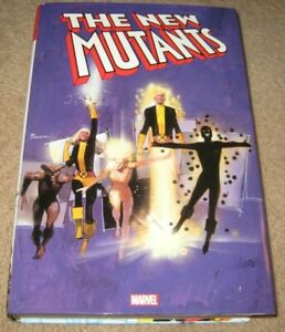 The New Mutants Omnibus Volume 1 Marvel Hardcover HC Vol. One With Dust Jacket