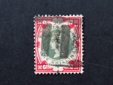 stamp Great Britain United Kingdom UK Victoria SG214 GB  Used one shilling