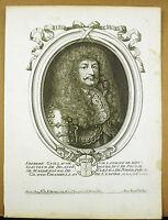 Friedrich Wilhelm Ier Brandenburg-Preußen Xvii È Nicolas De Larmessin Gravur