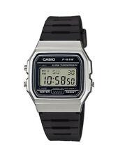Casio Collection Uhr F-91WM-7AEF Digital Schwarz