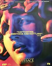 THE ASSASSINATION OF GIANNI VERSACE Emmy consideration advertisement FX ad