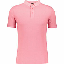 SUPERDRY Men's Pink Classic City Polo Shirt, size Small