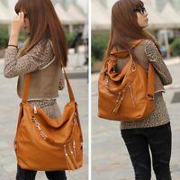 Quaste Tasche Rucksack Damen Schultertasche Handtasche Shopper  #