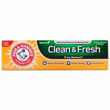 ARM & HAMMER CLEAN FRESH TOOTHPASTE,MINT, 121 g,NO ANIMAL TESTING,NATURAL INGRED