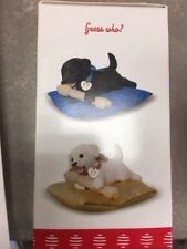 Playful Puppy Surprise 2017 Hallmark Ornament REPAINT Puppy Love UNOPENED Box!!!