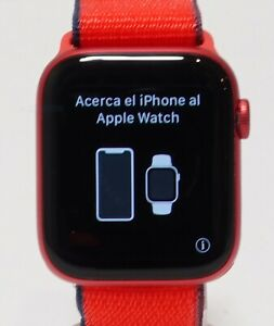 Apple Watch Series 6 Aluminum Case 44mm (GPS + Cellular) Product Red